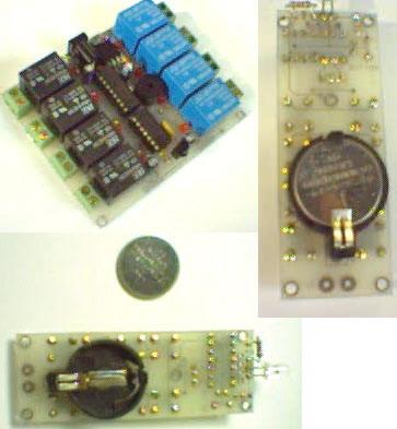 IR Remote Control Circuits with PICmicro 8 kanal ir kumanda1