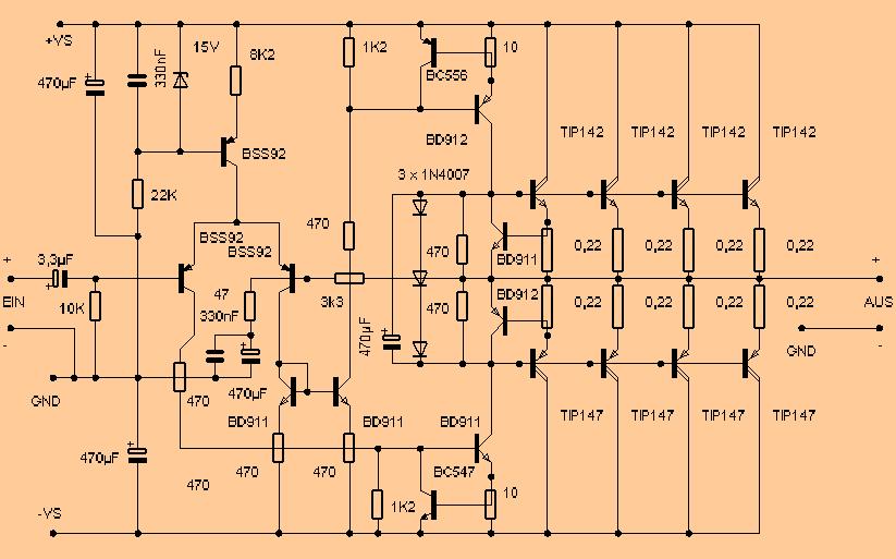khuếch đại mạch-Amphi-tip142-tip147