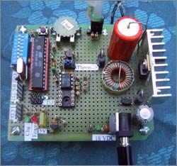 Microcontroller controlled battery charging circuits atmega8