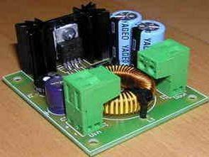 LM2576 24V 12 Volt Step Down Regulatör