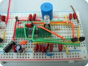 Mạch điện tử hỗn hợp kỹ thuật số rf fm tương tự