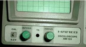 osiloskop_analog2 Parlaklık (Intensity) potansiyometresi