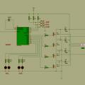 PIC16F84 Mosfetli Step Motor Kontrol Devresi