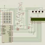 PIC16F877-LCD-mã hóa-key-mạch