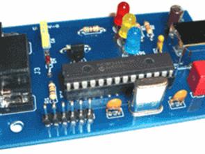 PIC18F2455 USB OBD2 RS232 mạch chuyển đổi