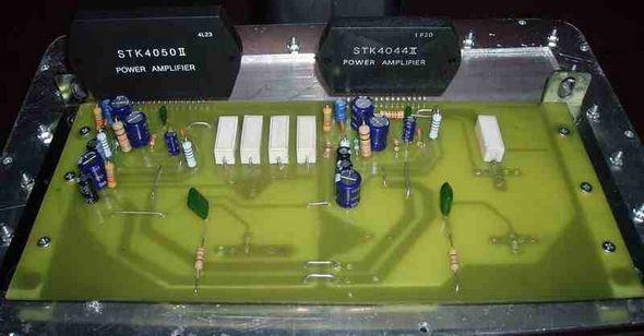 Stk4044 Stk4050 Amplifiers Circuits Pcb