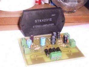 Stereo İki Kanal 100 Watt Anfi STK4231