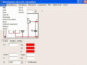 Süper Elektronik Hesaplama Programı MiscEl