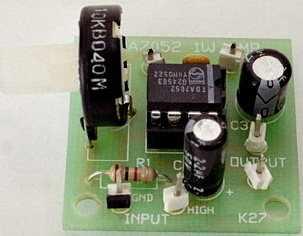 Küçük bir amfi devresi 3-12V 1 watt.  Ayrıntılı bilgi: utqdouman...