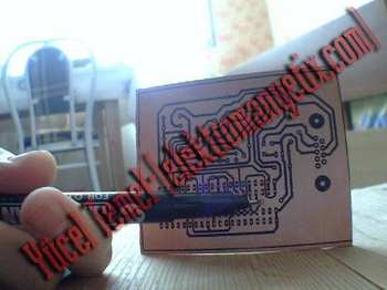 cd eding kalemi pcb cizim