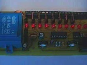 LM3914 230 Volt Vu Metre