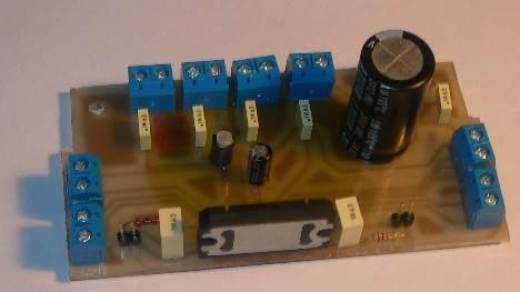 TDA7384 4x22 Watts Car Amplifier Circuit TDA7384 PCB eagle baski devre