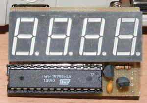 atmega8l_display hız göstergesi speed meter