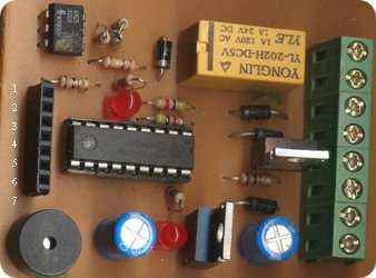 PIC16F628A ile Telefon Aramalı Hırsız Alarmı