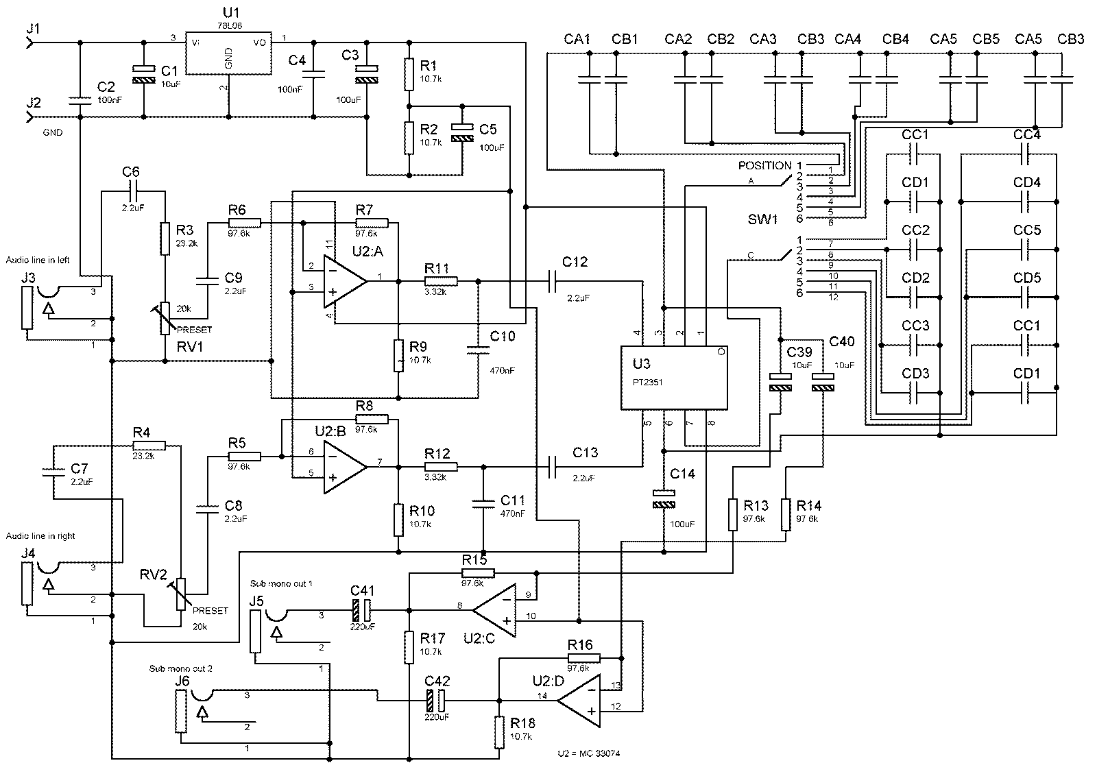 Fantastic Gradual Subwoofer Bass Filter Circuit Electronics Projects Circuits Wiring Digital Resources Remcakbiperorg
