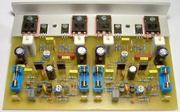 N Channel Mosfet Amplifier Circuits Electronics Projects