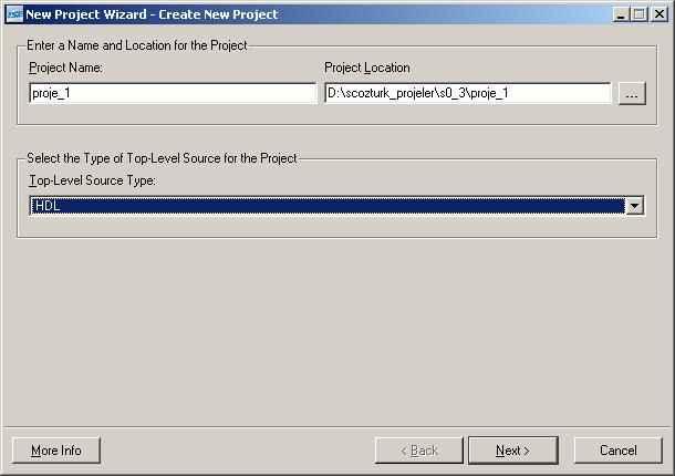 XilinxI-ISE-proje