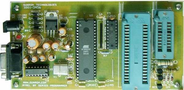 ATMEL AT89 series  programmer  circuit (working tested) atmel programlayici atmel programmer