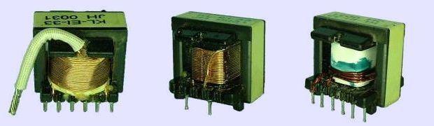 PIC12F629 PWM SMPS Control ei33 Winding transformer atx ei33