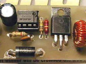MAX643 12V 16V DC-DC Konvertör Devresi