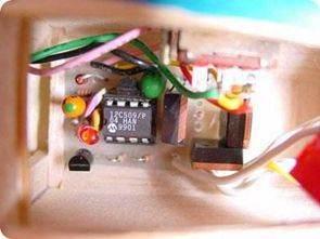 PIC12C509 PWM tốc độ động cơ điều khiển điện tử điều khiển tốc độ