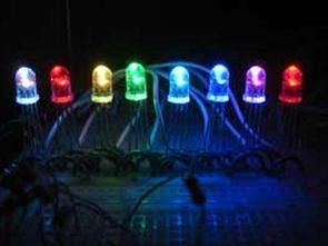 PIC16F628 ile 8 seri RGB led kontrol
