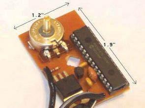 PIC16F876 Pulse width modulation PWM Motor Hız Kontrol