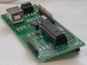 16F873 16F628 USB RS232 LCD-VFD Ekran Kontrolü