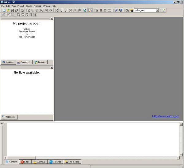 verilog-xilinx-ISE-Webpack-programi