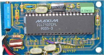 voltmetre-devresi  icl7107 volt metre