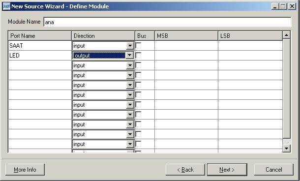xilinx-proje-Bus-MSB-LSB-led