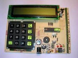 PIC16F873 PIC16C84 Deneme Geliştirme Kartları