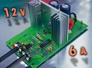 SG3524 3V-12V 1-5A-6A Akım Voltaj Ayarlı Konvertör