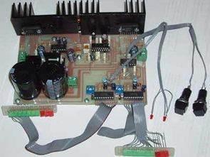 TDA1514A ile Stereo 2X50W Anfi Devresi