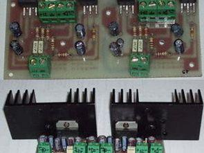 TDA2005 TDA2003 ile Köprü Bağlantılı Anfi Devreleri