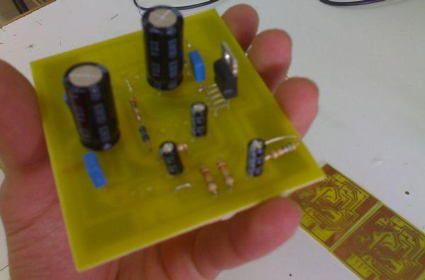 4X60Watt Amplifier Project TDA2052 tda2052 pcb
