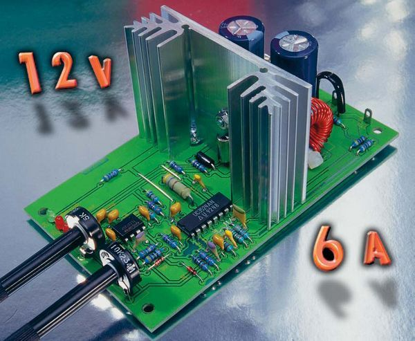 Step Down Converter >> Adjustable DC DC Converter Circuit SG3524 - Electronics Projects Circuits