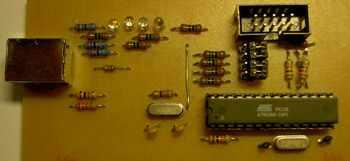 Atmel Avr AT89C2051 AT89C4051 USB Programmer usb foto avr
