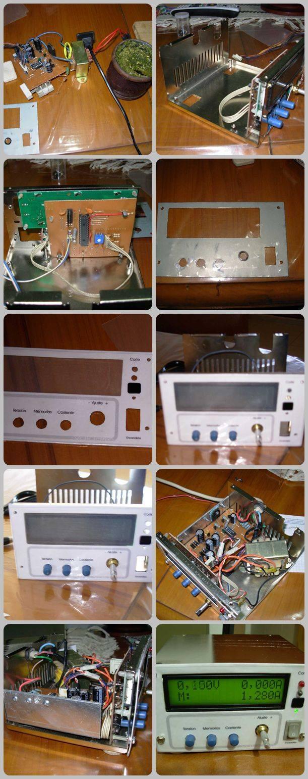 Fuente-valdorre-variable-power-supply-microcontroller
