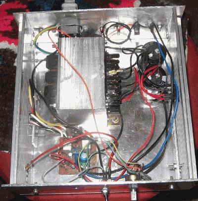 100W Darlington Transistor Amplifier Circuit 2+1 BDW83 BDW84  TDA8563 anfi proje14