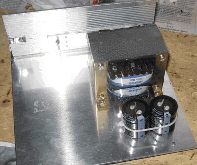100W Darlington Transistor Amplifier Circuit 2+1 BDW83 BDW84  TDA8563 anfi proje17