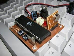 AT89S52 Điều khiển tốc độ động cơ DC với RF Keil Isis