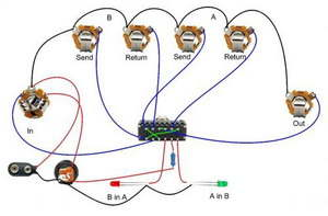 Guitar Effects, Pedal, Byp Circuits - Electronics ... on