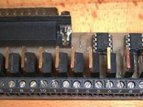 Mạch động cơ bước ba trục với PIC12C508