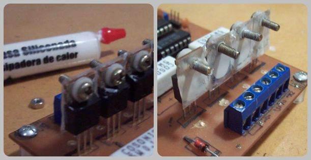 Unipolar and Bipolar Motor Driver  Circuits  L298  L297 l298 l297 driver