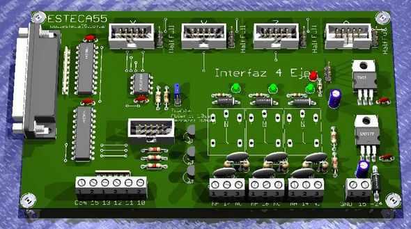 LPT-CNC-cơ-lái xe-giao diện điều khiển-CNC