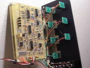LM13700 TL082 TL084 Opamplar ile VCF 24dB Mixer