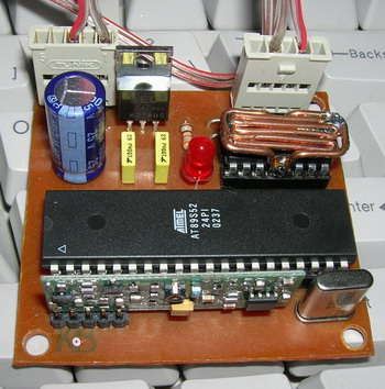 AT89S52 8051 RF DC Motor Speed Control - Electronics