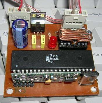 AT89S52  8051 RF DC Motor Speed Control rf dc motor hiz kontrol 2