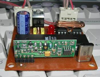 AT89S52  8051 RF DC Motor Speed Control rf dc motor kontrol 2